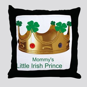 Irish Prince/Mommy Throw Pillow