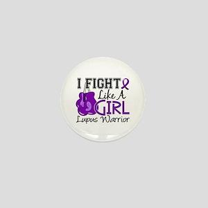 Licensed Fight Like a Girl 15.2 Lupus Mini Button