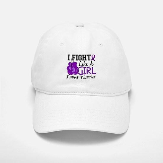 Licensed Fight Like a Girl 15.2 Lupus Baseball Baseball Cap
