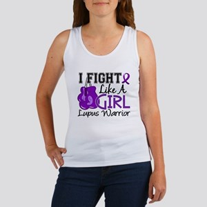 Licensed Fight Like a Girl 15.2 L Women's Tank Top
