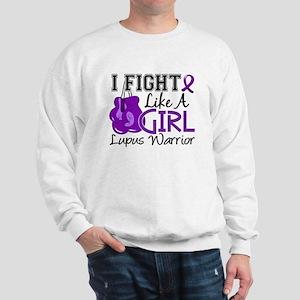 Licensed Fight Like a Girl 15.2 Lupus Sweatshirt