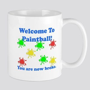 Paintball Broke Mug