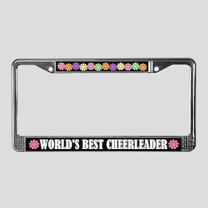 Cheerleader License Frame