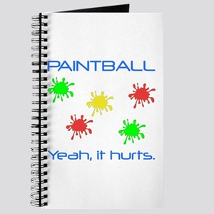 Paintball Hurts Journal