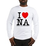 I Love New Amsterdam Long Sleeve T-Shirt