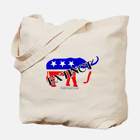 Extinct Republican Party Symbol Tote Bag