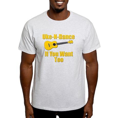 funny ukulele Light T-Shirt