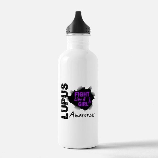 Fight Like A Girl Lupus Water Bottle
