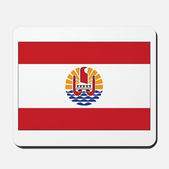 French Polynesia Flag Mousepad