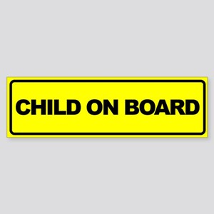 Baby on Board Car Stickers Sticker (Bumper)