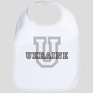 Letter U: Ukraine Bib