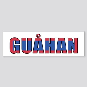 Guam (Chamorro) Sticker (Bumper)