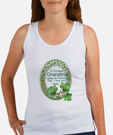 St. Pat's Day Gifts For Grand Women's Tank Top