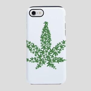 cannabis iPhone 7 Tough Case