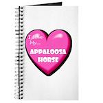 I Love My Appaloosa Horse Journal