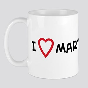 I Love Mary Landrieu Mug