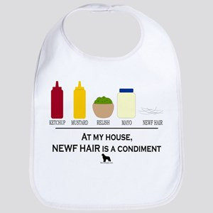 Newf Hair is a Condiment Bib