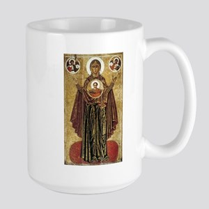 Holy Mary, Mother of God Large Mug