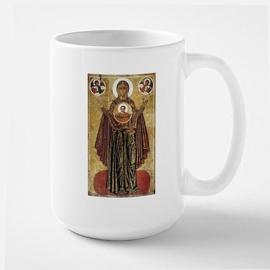 Holy Mary, Mother of God Large Mug