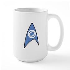 Star Trek TOS Sciences Badge Large Mug