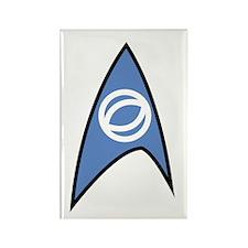 Star Trek TOS Sciences Badge Rectangle Magnet