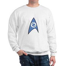 Star Trek TOS Sciences Badge Sweatshirt