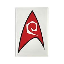 Star Trek TOS Engineer Badge Rectangle Magnet