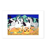 Appaloosa Horse Dance Postcards (Package of 8)