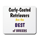Curly-Coated Retriever Best Mousepad