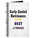 Curly-Coated Retriever Best Journal