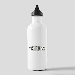 Both Wars (Iraq & Afghanistan Stainless Water Bott