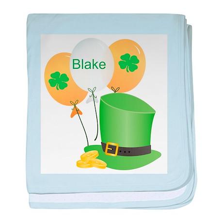Blake Lucky Irish baby blanket