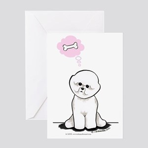 Bichon Sit Pretty Greeting Card