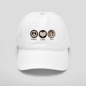 Peace Love Flo Cap