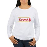 WTD: Koduck Women's Long Sleeve T-Shirt