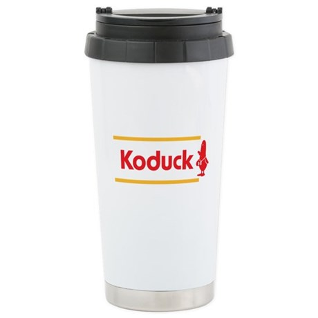 WTD: Koduck Stainless Steel Travel Mug