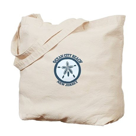 Ocean City NJ - Sand Dollar Design Tote Bag