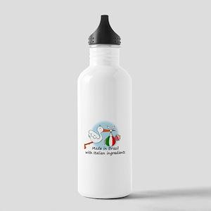 Stork Baby Italy Brazil Stainless Water Bottle 1.0