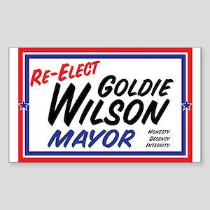 Re-Elect Mayor Goldie Wilson Sticker (10 Pk)