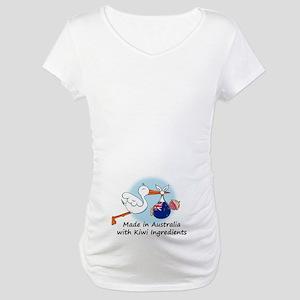 Stork Baby NZ Australia Maternity T-Shirt