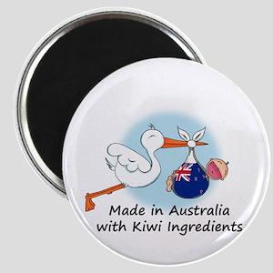 Stork Baby NZ Australia Magnet
