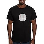 Baseball Men's Fitted T-Shirt (dark)