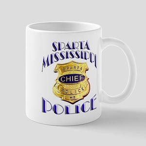 Sparta Police Chief Mug