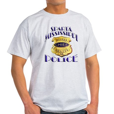 Sparta Police Chief Light T-Shirt