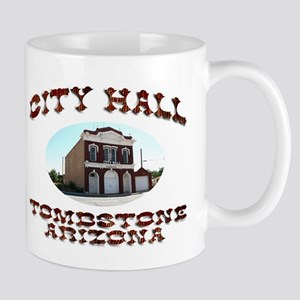 Tombstone City Hall Mug