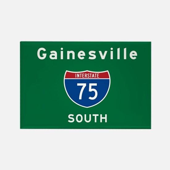Gainesville 75 Rectangle Magnet