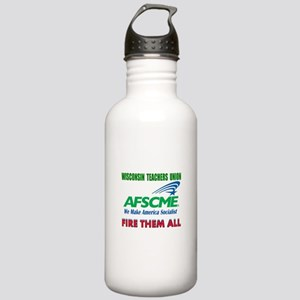 NO MORE FREE RIDE Stainless Water Bottle 1.0L