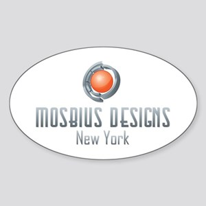 Mosbius Designs Sticker (Oval)