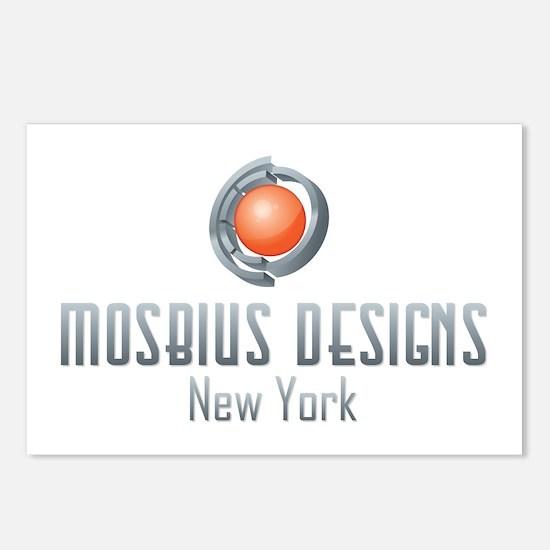 Mosbius Designs Postcards (Package of 8)