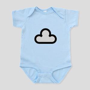 Dark Cloud Symbol Infant Bodysuit